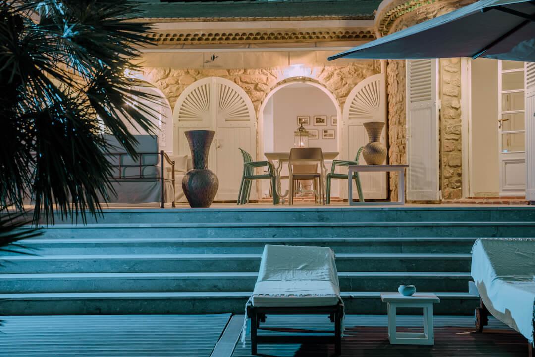 villa paradiso exterior luxury rehab tunisia