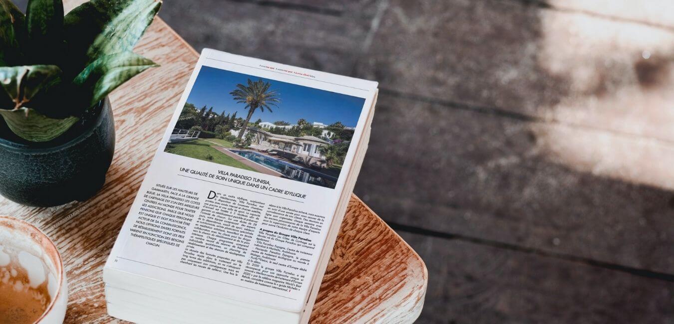 villa paradiso tunisia in the media - gazelle